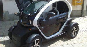 Renault Twizy auf der Automobilshow in Baden