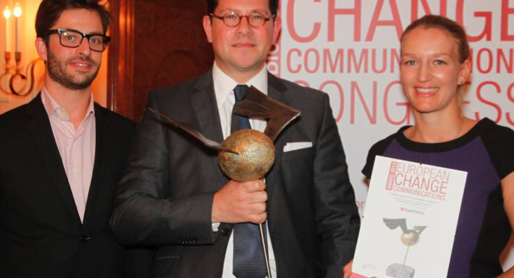 Suntech erhält European Change Communications Award