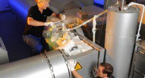 CWS-Testanlage für Thermochemische Speicher