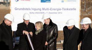 Grundsteinlegung Muli-Energie-Tankstelle