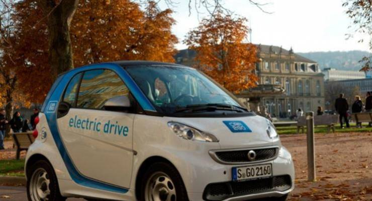 car2go am Schlossplatz