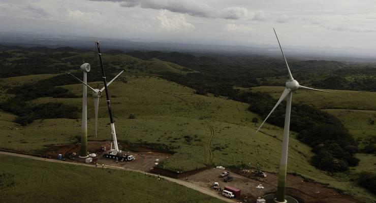 Windenergiepark Guanacaste
