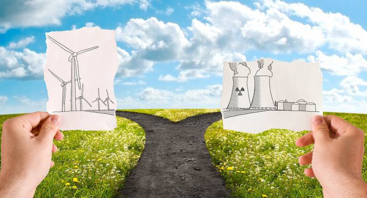 Atomstrom vs. Ökostrom