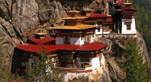 Das Königreich Bhutan im Himalaya