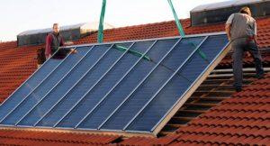 Installation einer PV-Anlage