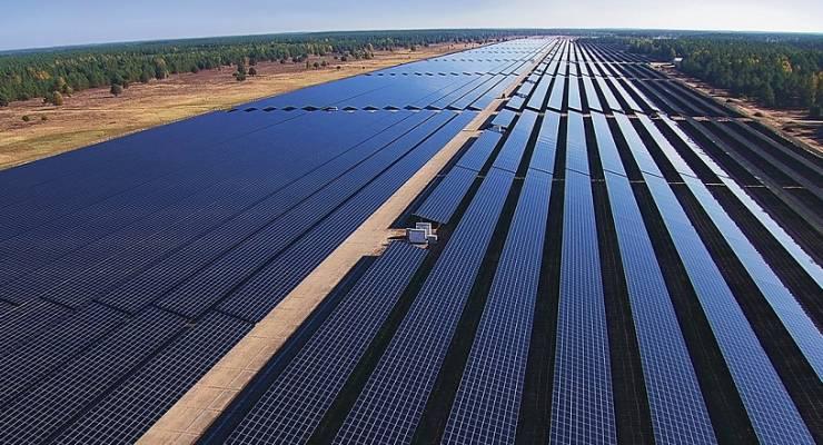 Größtes Dünnschicht-Solarkraftwerk Europas