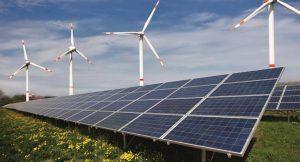 Solar-Wind-Kombikraftwerk