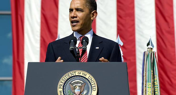 Barack Obama spricht über Klimawandel