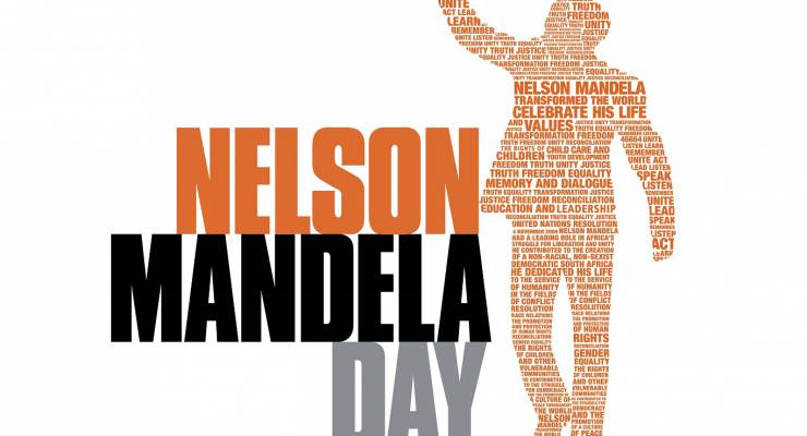 Nelson Mandela International Day logo