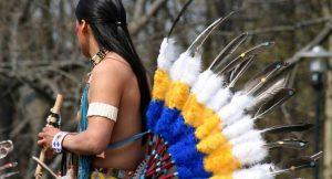 US-amerikanischer native dancer