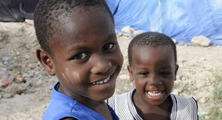 haitianische Kinder