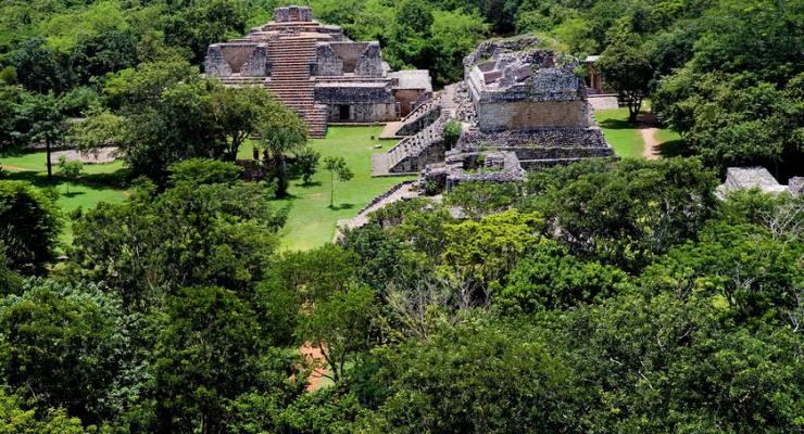Maya-Stadt der Ek Balam, Yucatan, Mexiko