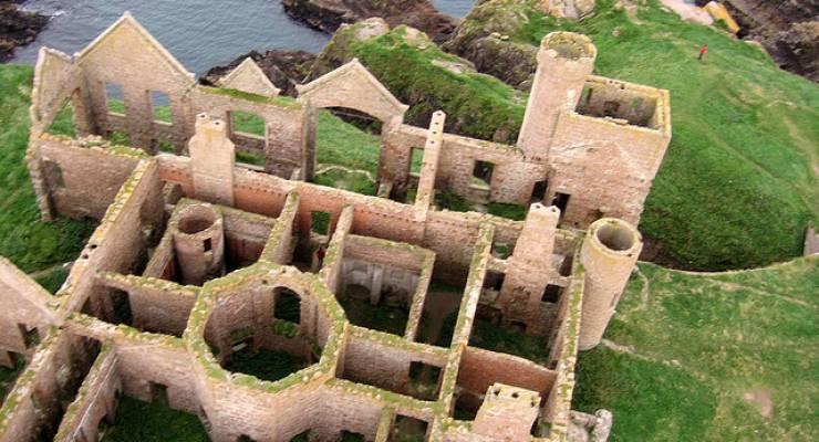 KAP at Slains Castle, Scotland