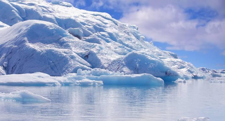 Eisberg-Gletscher