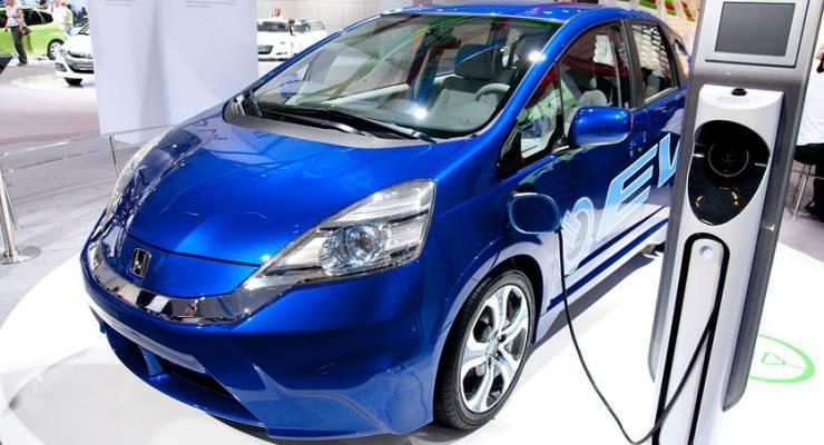 Honda EV Concept Plug-in Hybrid Car