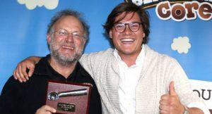 Ben & Jerry's-Gewinner Yannick Sonnenberg mit Jerry Greenfield