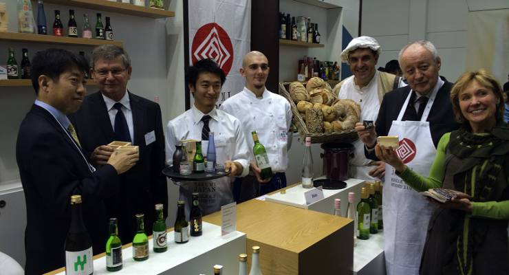 Am IGW-Messestand von TAKUMI JAPAN