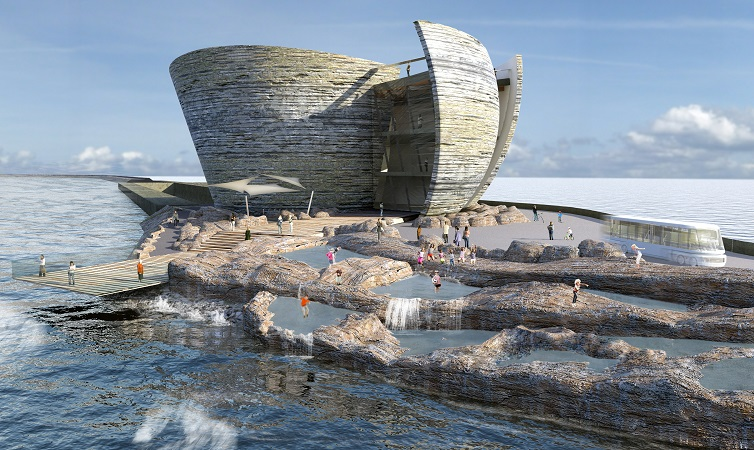 1254 Arrival and Rock pools