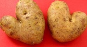 Herz-Kartoffeln