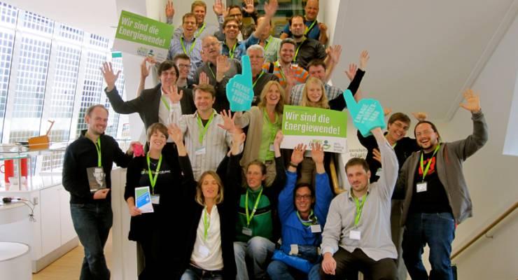 Teilnehmer Barcamp Renewables 2013