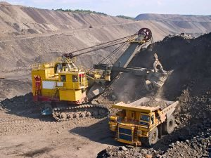bigstock-Big-Yellow-Mining-Truck-14848442