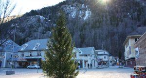 Das Spiegelsystem versorgt Rjukan mit zusätzlichem Licht