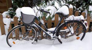Radfahren ist auch im Winter gut für die Gesundheit