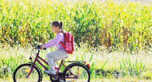 Die Freude am Radfahren sollte von Klein auf gelernt sein