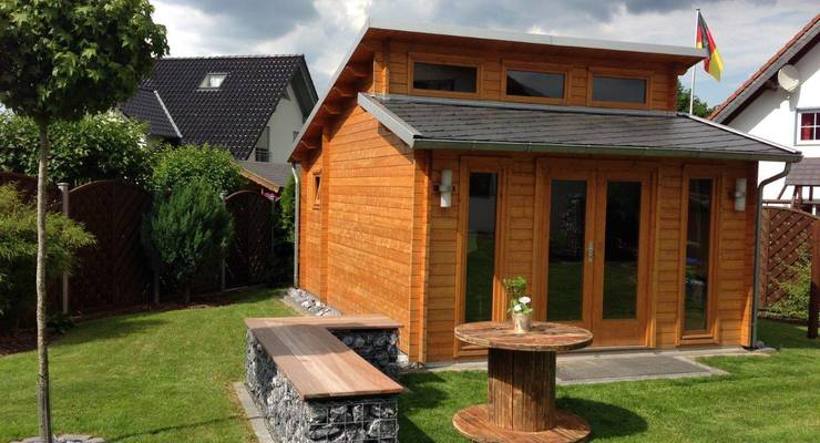 Auch beim Gartenhaus sollte man auf Nachhaltigkeit achten