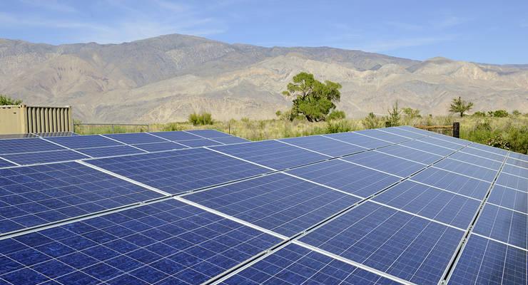 In Kalifornien wurde eine der größten Solarfarmen der Welt eröffnet.