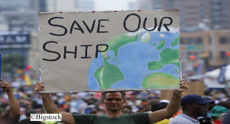 In ihrer Rede forderte Kanzlerin Merkel eine globale Dekarbonisierung noch in diesem Jahrhundert.