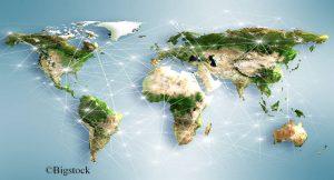 Fast überall auf der Welt werden die Erneuerbaren ausgebaut und weniger Strom mit fossilen oder nuklearen Kraftwerken erzeugt.