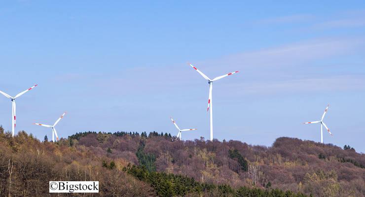 Windenergie in deutschen Wäldern