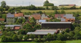 Smart Grid und Solarenergie Dorf Sonderbuch