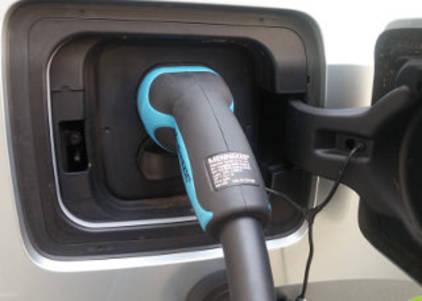 Elektroauto Zapfsäule