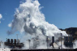 Geothermie-Anlage auf Island