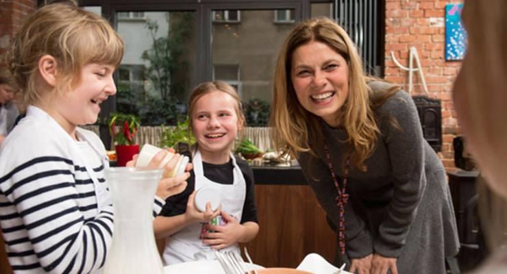 Kinder und Lust zu kochen