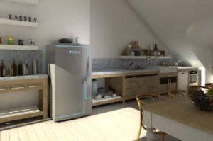 Cleantech - stromloser Kühlschrank