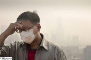 Smog in Peking - Alarmstufe Rot