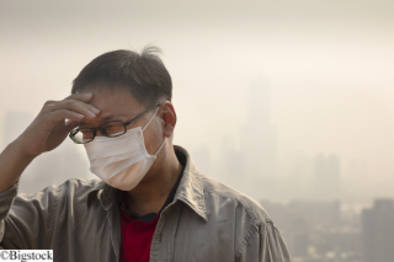 Smog in Peking - Alarmstufe Rot