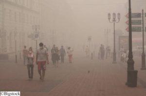 Luftverschmutzung - Smog