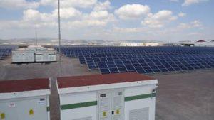 18 MW Solarpark im Industriegebiet in Kayseri (Zentralanatonlien)
