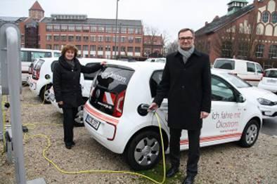 Städtische Versorger wie die N-Ergie in Nürnberg stellen ihre Fuhrparks auf E-Autos um.
