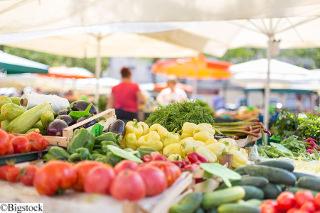 nachhaltiger Konsum Wochenmarkt