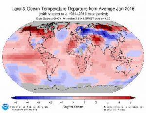 Klimawandel - Wärmerekord