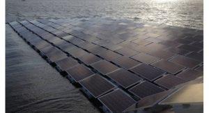 Solarpanel Schwimmend
