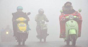 Smok und Umweltprobleme in China