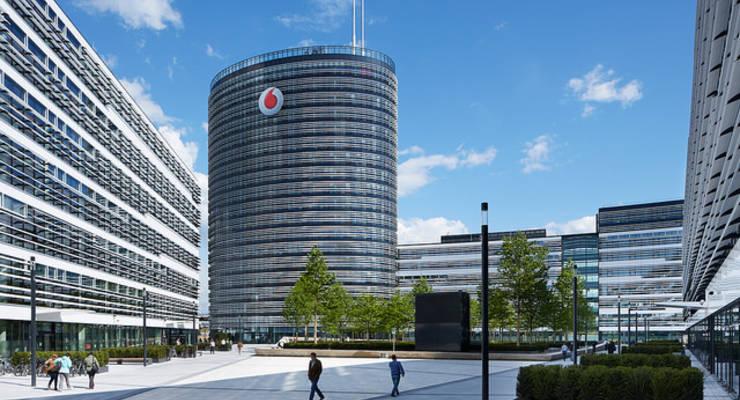 Der Vodafone Campus in Düsseldorf