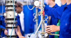 Die Synthese von Methanol aus nachwachsenden Rohstoffen soll den Erdöl-Verbrauch senken ©TVT/ TU Kaiserslautern