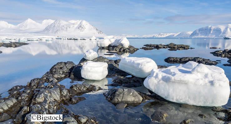 3 Quadratmeter weniger Eis pro Tonne CO2